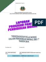 Dokumentasi Program Pendidikan Moral Siri 1 2014