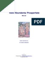 Reiki Abundenta-Prosperitate - Manual