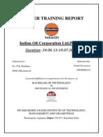 Training Panipat Refinery