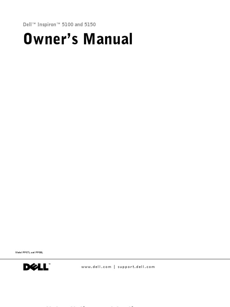 dell inspiron i5100 om laptop service manual electrical connector rh scribd com dell inspiron 5100 service manual Service Manual Dell Dimension