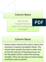 Column Base, steel column base,