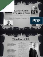 Konstantin Stanislavski for IGCSE DRAMA