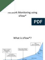 Network Monitoring using sFlow®