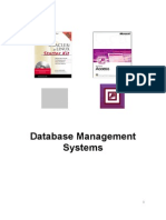 DBMS(Database Management System)