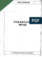 Tokarilica Prvomajska TVP 250
