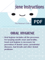 RAC-IW Oral Hygiene Lecture
