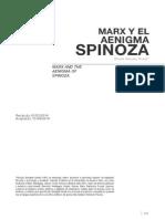 """""""Marx y el 'Aenigma Spinoza'"""" por Nicolás González Varela"""