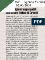 La Nazione 2 giugno 2004