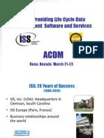 25 RAM ISS-LCM Tools-ACDM_Ram White.ppt