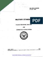 FRACAS Military Standard.pdf