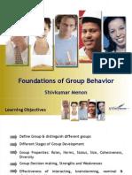 OB-I - Foundations of Group Behavior-Workteams-Organizational Stress