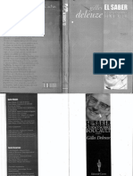Deleuze. El Saber, Curso Sobre Foucault