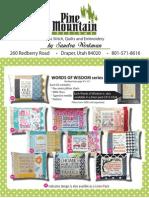 Pine Mountain Cross Stitch Catalog Sept 2014