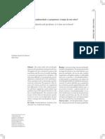 A interdisciplinaridade e a psiquiatria - é tempo de não saber.pdf