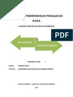 Proposal Permohonasn Pengajuan Dana