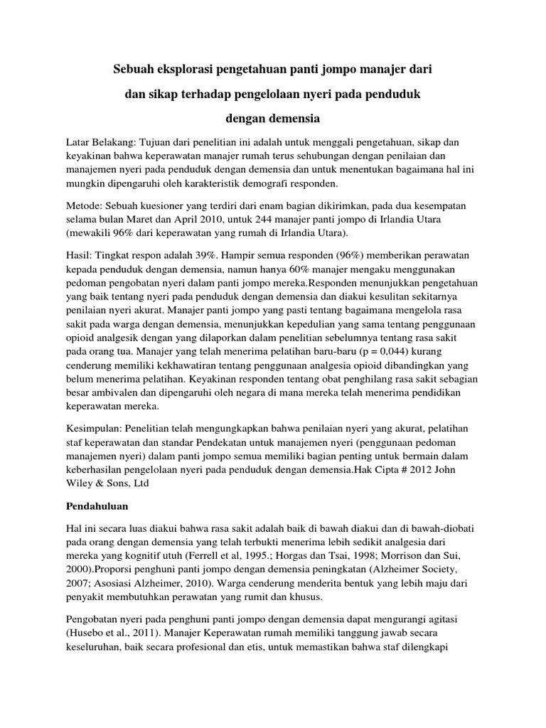 Peneliti UNAIR Temukan Hambatan Perawatan Paliatif Untuk Lansia - Unair News