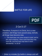 The Battle for Life Part 1