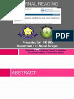 Neuroregeneration Journal Reading