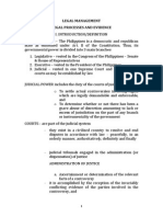 Legal Proc Notes