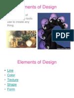 elment and principles of design