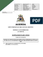 Hobart City Council May 27 Agenda