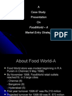 Retail ( FoodWorld CAse)