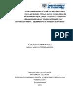 DIAGNOSTICO DE LA COMPRENSION LECTORA Y SU INFLUENCIA EN EL APRENDIZAJE.pdf