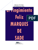 Sade Marques De - El Fingimiento Feliz.PDF