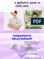 Role of a Pediatric Nurse in Child Care