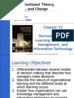Ch12 of Org Behavior by Jones
