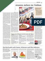 So isst der Papst - Das Kochbuch der Schweizergarde