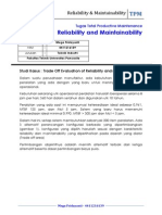 Tugas Studi Kasus Reliability and Maintainability.docx