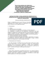1.- INSTRUCTIVO EVALUACION  DEL ANTEPROYECTO Y PROYECTO FINAL.doc