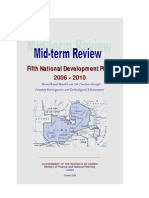 Fifth National Development Plan Mid-Term Review 2006-2010