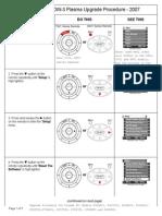 Hitachi P50H401 Plasma TV DW3 Software Update