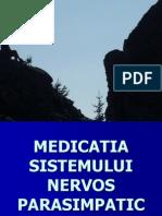 Medicatia Sistemului Nervos Parasimpatic