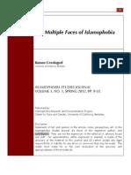 Grosfoguel, Ramon 2012. the Multiple Faces of Islamophobia