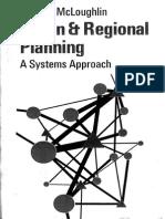 Brian McLoughlin, Urban and Regional Planning