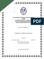 La Ingeniería y la Administración de Proyectos