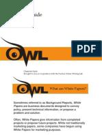 Purdue OWL White Paper Tutorial(1)