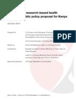 Health for Life Kenya Proposal