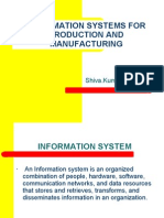 Information Systems for Production & Manufacturing