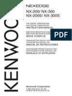NX-200 S 300 S Instruction Manual B62-2252-00 English