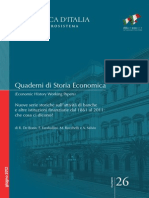 Quaderni Di Storia Economica. Serie storiche.