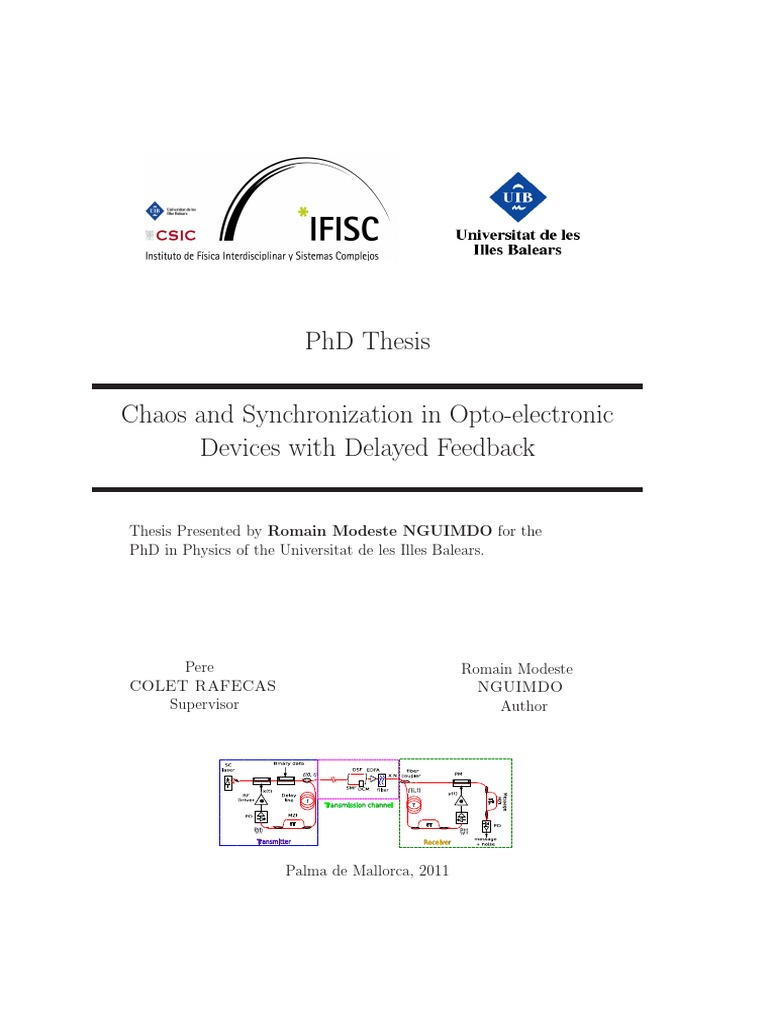 Phd thesis on cryptography