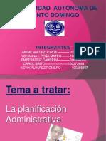 la planificacion administrativa.pptx