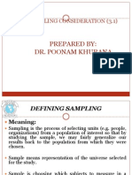 3.1 Sampling Concept