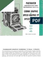 Graflex Instruction Manual