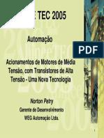 Acionamentos de Motores de Média Tensao, Com Transistores de Alta Tensao - Uma Nova Tecnologia (1).pdf