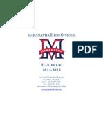 student handbook 2014-2015 rev20140821